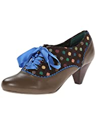Poetic Licence Womens Eye Spy Oxford Pumps Shoes