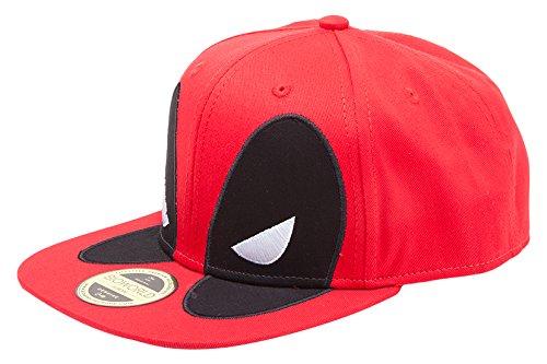 a6f6bd4a8b18f Deadpool Meroncourt Unisex Marvel Comics Big Face Snapback Baseball ...