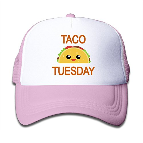 Baby Taco Tuesday Boys And Girls A Grid Baseball Cap Can Be Adjusted