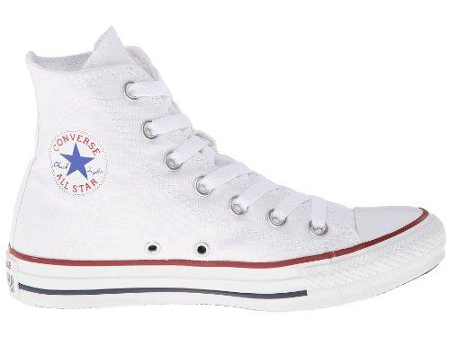 Zapatillas De Deporte Altas Unisex Chuck Taylor All Star (4.5 (hombres) / 6.5 (mujeres) Ee. Uu., Blanco Óptico)