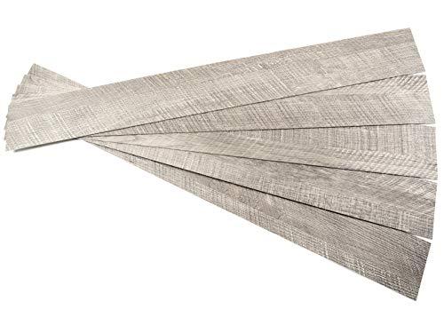 ROSEROSA Peel and Stick Engineered Polypropylene Planks Safety & Abrasion Resistance Dazzling Oak Pattern Durable Flooring (ECK-707 : 5 ()