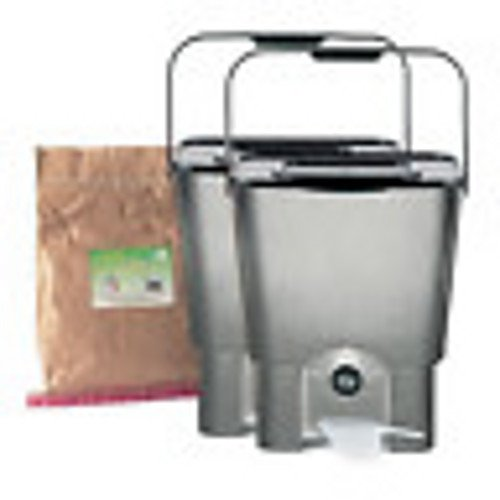 Kit Tacho doble Bokashi: Amazon.es: Hogar