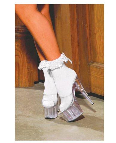 Ruffle Bow Socks - 7