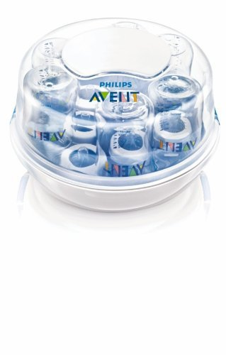 Philips AVENT BPA Free Microwave Steam Sterilizer New Born, Baby, Child, Kid, Infant