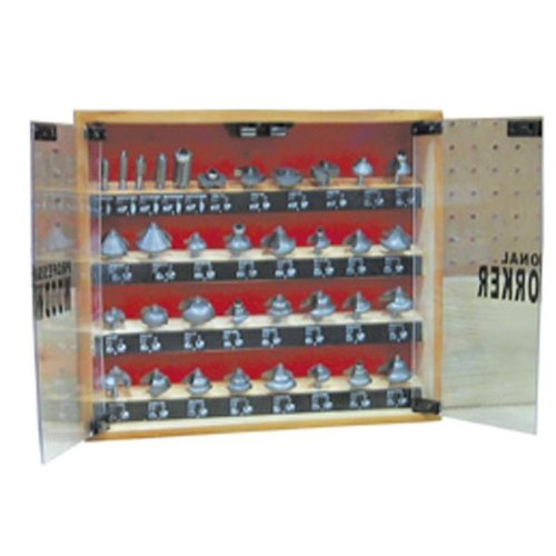 Professional Woodworker (Professional Woodworker 35 Piece Tungsten Carbide Router Bit Set Cabin)