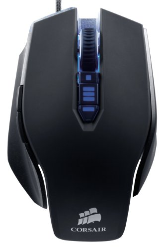 Corsair Vengeance M65 Performance FPS Gaming Mouse, Gunmetal...