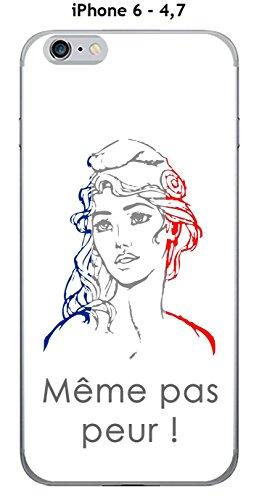 Cover Apple Iphone 6 47 Design Marianne Meme Non Paura Sfondo