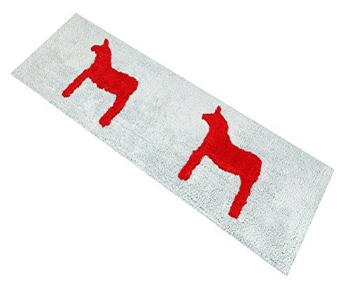 Horse Multi-size Round Carpet / Area Door Mat Bath Floor ...