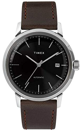Timex Men's Marlin Automatic Black/Silver One Siz