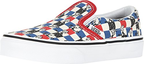 Vans Kids X Marvel Classic Slip-On Skate Shoe (12 Little Kid M, Guardians/Multi -