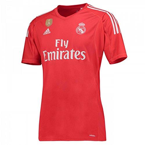 Adidas Goalkeeper Kit (Real Madrid Away Goalkeeper Jersey 2017 / 2018 - XXL)