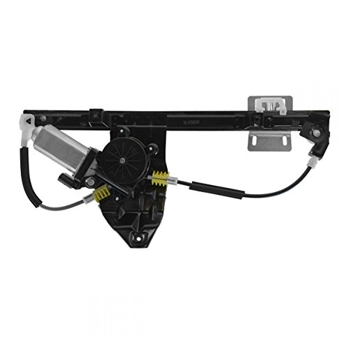 Window Regulator & Motor Power Rear Right RH RR for 02-05 Land Rover ()