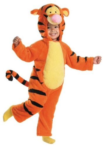 WMU Tigger Deluxe Plush 3T-4T by Disguise