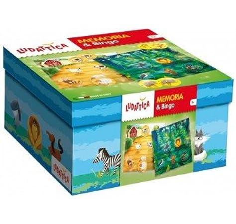 Ludattica 59072 Juego de reflexión – Memory Bingo: Amazon.es: Juguetes y juegos