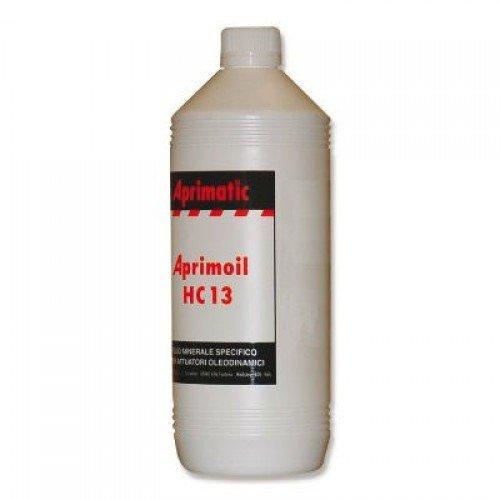 Aceite hidrá ulico dielé ctrico Aprimatic Aprimoil F26, 1 litro, para motores elé ctricos de cancelas
