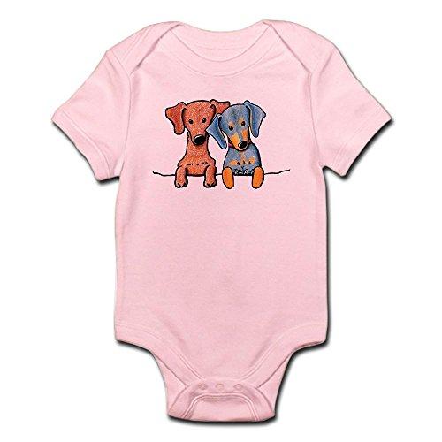 Duo Pocket Diapers (CafePress Pocket Doxie Duo Infant Bodysuit - Cute Infant Bodysuit Baby Romper)