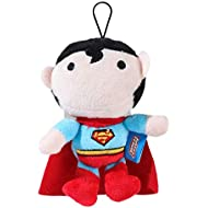 DC Comics Superman Mini Plush Figure Toy | Squeaky Plush Dog Toy