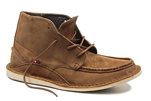 Oliberte Men's Mogado Hi Antique Brown 43/10 Chukka Boot by Oliberte
