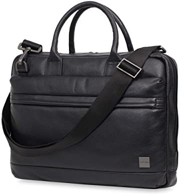 Knomo Luggage Men's Foster Briefcase, Black, One Size