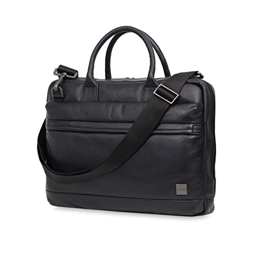 Knomo Luggage Men's Foster Briefcase, Black, One Size by Knomo