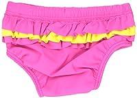 Baby Banz Girls' UV Swim Diaper Sun Blossom Ruffle, Sunblossom, 12 18 Months
