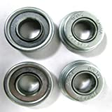 Invacare EX2 Front Caster Bearings 7/16 Inch ID x 29/32 Inch OD, Pack of 4