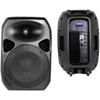 Weltron WAS-1280AP Surround Portable Bluetooth Speaker Set of 1 Black