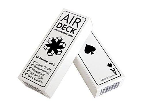 TipTop Things Air Trading White Playing Card Deck, White