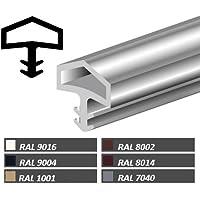 Türanschlagdichtung Bayram® Türdichtung Zimmertürdichtung M680 Deventer Farbe: weiß … (5m)