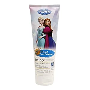 Pure Sun Defense Disney Frozen Sunscreen Lotion SPF 50