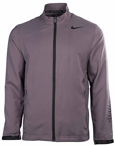 Nike Men's Hyperspeed Track Jacket, Dark Grey/Black, Small