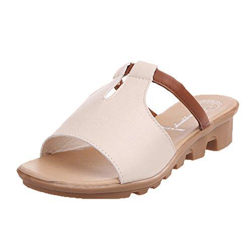 Chaussures Beige Fille Piscine Mules Pour Et Antidérapant Sandales Homme Sabots Enfants De Chaussons Femme amp; Garçon Pantoufles Plage Lianmengmvp D'été rH1qCrSw