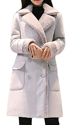 Quilted Suede Coat - 9