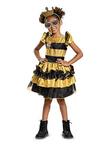 Queen Bee Halloween Costume (Disguise Queen Bee Deluxe Child Costume, Yellow,)