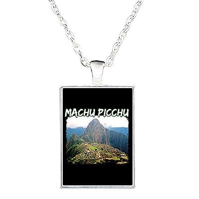 Huayna Picchu Mountain Climb Machu Picchu Hike Gift Idea - Necklace