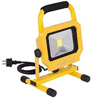 Varo & Kreator PowerPlus POWLI234 LED-Strahler, tragbar, 20 W, 230 V, Gelb