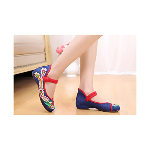 Florales Brod Chinoises Chaussures Chaussures Florales qZwqEpST