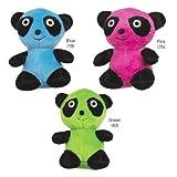 Zanies Plush Band O' Panda Dog Toy, 4-3/4-Inch, Blue, My Pet Supplies