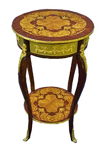 Two Tiers Louis XV Style Wine - Side Table ()