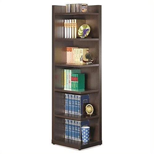 Coaster Home Furnishings 800270 Transitional Bookcase, Cappu