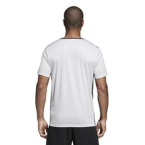 Adidas White black Entrada shirt 18 Uomo T OUqO4rT