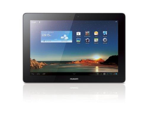 Huawei MediaPad 10 link 25,6 cm (10,1 Zoll) Tablet-PC (Cortex A9 Quad, 1,2GHz, 1GB RAM, 3,2 Megapixel Kamera, 3G, EG, Android 4.0) weiß/silber