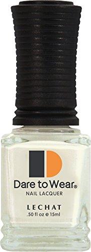 LECHAT Dare to Wear Nail Polish, Marshmallow Gin, 0.500 Ounce