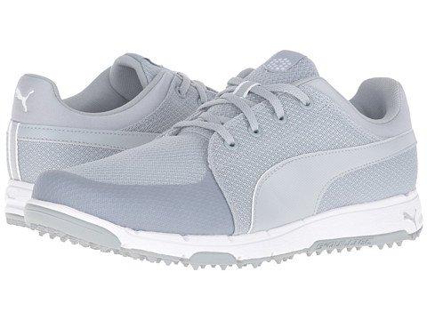 (プーマ) PUMA メンズゴルフシューズ靴 Grip Sport [並行輸入品] B071V73S8M 26.0 cm D - M Quarry/White