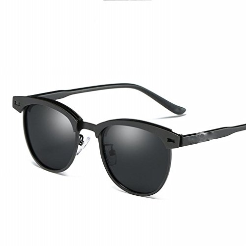 Sol Gafas LY YL Gafas Polarizadas Gafas Sol Polarizadas de Re de de Gafas Hombres Segundo Metal Sol Sol de A5tAxRwq