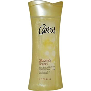 Glowing Touch Silkening Body Wash for Unisex By Caress, 12 Ounce