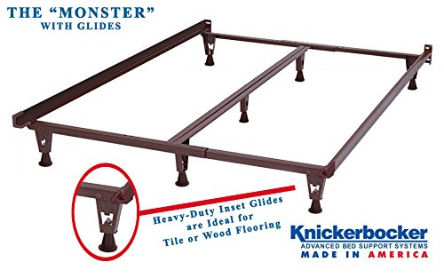 Model KB2007G - Heavy Duty Metal Bed Frame w/Glides ONLY - Knickerbocker ''Monster'' Version without Wheels - 5-in-1: Twin,Full, Queen,King,California King by Heavy Duty Bed Frames (Image #5)