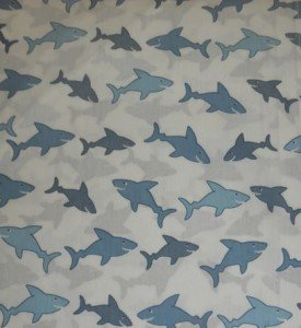 Hillcrest Fine Linens Shark Toss Full Size Sheet Set (Shark Full Size Sheets compare prices)
