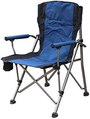Silla de camping, Silla Plegable de jardín, sillón Exterior, Pesca, Picnic, jardín, Plegable, al Aire Libre, con Bolsa de Transporte: Amazon.es: Hogar