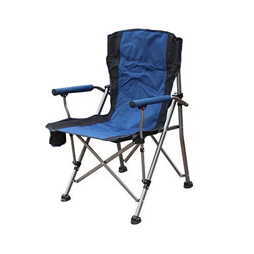 Silla de camping, Silla Plegable de jardín, sillón Exterior ...